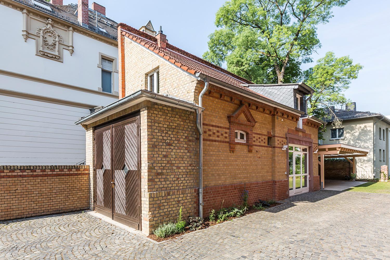 Kutscherhaus der Villa Viktoria, Referenzobjekt der Firma Wohnwert Immobilien