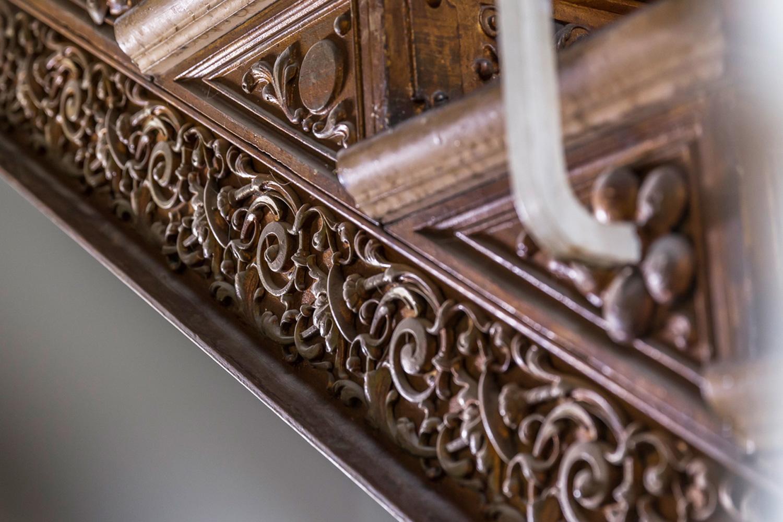 ... Detail Der Gusseisernen Treppe Im Treppenhaus Der Von Wohnwert  Immobilien Sanierten Villa Viktoria ...
